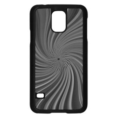 Abstract Art Color Design Lines Samsung Galaxy S5 Case (black)