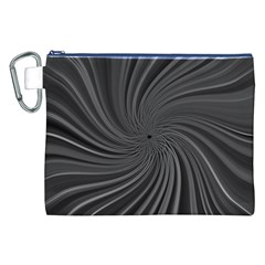 Abstract Art Color Design Lines Canvas Cosmetic Bag (xxl)