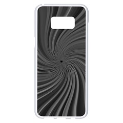 Abstract Art Color Design Lines Samsung Galaxy S8 Plus White Seamless Case
