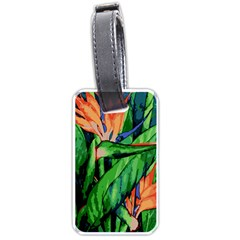 Flowers Art Beautiful Luggage Tags (two Sides)