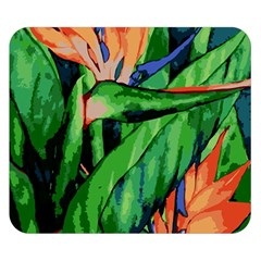 Flowers Art Beautiful Double Sided Flano Blanket (small)