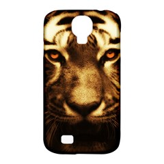 Cat Tiger Animal Wildlife Wild Samsung Galaxy S4 Classic Hardshell Case (pc+silicone)