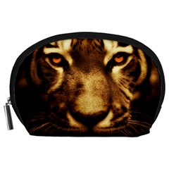 Cat Tiger Animal Wildlife Wild Accessory Pouches (large)