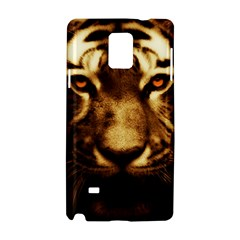 Cat Tiger Animal Wildlife Wild Samsung Galaxy Note 4 Hardshell Case