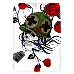Skull Skeleton Dead Death Face Flap Covers (s)