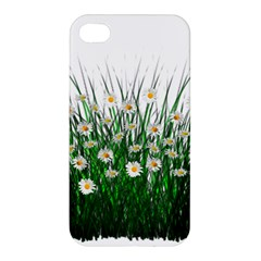 Spring Flowers Grass Meadow Plant Apple Iphone 4/4s Hardshell Case