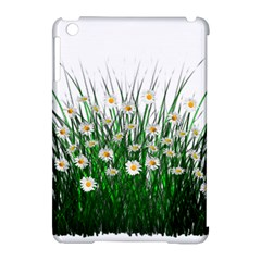 Spring Flowers Grass Meadow Plant Apple Ipad Mini Hardshell Case (compatible With Smart Cover)