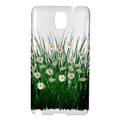 Spring Flowers Grass Meadow Plant Samsung Galaxy Note 3 N9005 Hardshell Case
