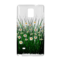 Spring Flowers Grass Meadow Plant Samsung Galaxy Note 4 Hardshell Case