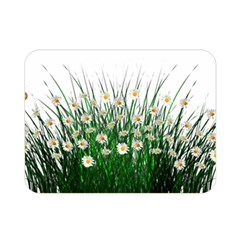 Spring Flowers Grass Meadow Plant Double Sided Flano Blanket (mini)