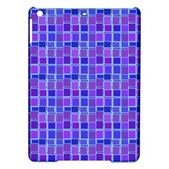 Background Mosaic Purple Blue Ipad Air Hardshell Cases