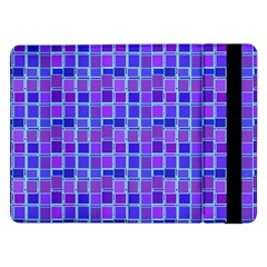 Background Mosaic Purple Blue Samsung Galaxy Tab Pro 12 2  Flip Case