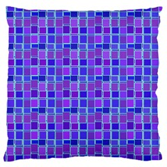 Background Mosaic Purple Blue Standard Flano Cushion Case (one Side)