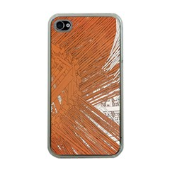 Abstract Lines Background Mess Apple Iphone 4 Case (clear)