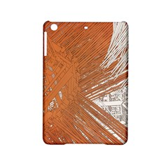Abstract Lines Background Mess Ipad Mini 2 Hardshell Cases