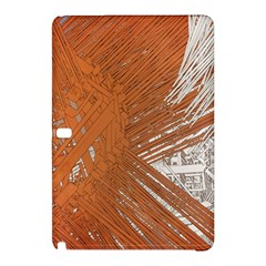 Abstract Lines Background Mess Samsung Galaxy Tab Pro 10 1 Hardshell Case