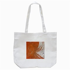 Abstract Lines Background Mess Tote Bag (white)