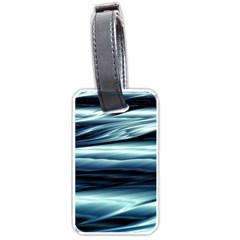 Texture Fractal Frax Hd Mathematics Luggage Tags (one Side)