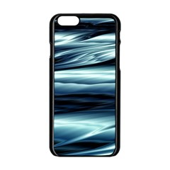 Texture Fractal Frax Hd Mathematics Apple Iphone 6/6s Black Enamel Case