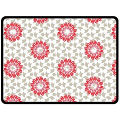 Stamping Pattern Fashion Background Fleece Blanket (large)