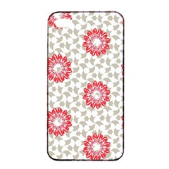 Stamping Pattern Fashion Background Apple Iphone 4/4s Seamless Case (black)