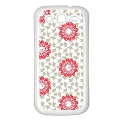 Stamping Pattern Fashion Background Samsung Galaxy S3 Back Case (white)