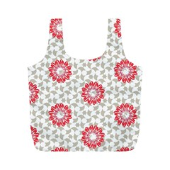 Stamping Pattern Fashion Background Full Print Recycle Bags (m)