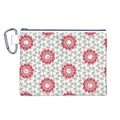 Stamping Pattern Fashion Background Canvas Cosmetic Bag (l)