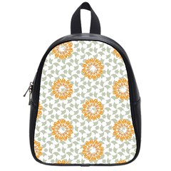 Stamping Pattern Fashion Background School Bag (small)