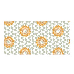 Stamping Pattern Fashion Background Satin Wrap