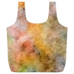 Texture Pattern Background Marbled Full Print Recycle Bags (l)