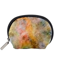 Texture Pattern Background Marbled Accessory Pouches (small)