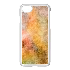 Texture Pattern Background Marbled Apple Iphone 8 Seamless Case (white)