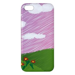 Pine Trees Sunrise Sunset Iphone 5s/ Se Premium Hardshell Case