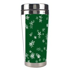 Template Winter Christmas Xmas Stainless Steel Travel Tumblers