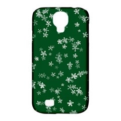 Template Winter Christmas Xmas Samsung Galaxy S4 Classic Hardshell Case (pc+silicone)