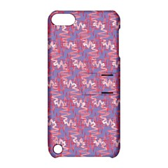 Pattern Abstract Squiggles Gliftex Apple Ipod Touch 5 Hardshell Case With Stand