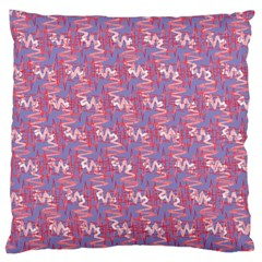 Pattern Abstract Squiggles Gliftex Standard Flano Cushion Case (one Side)