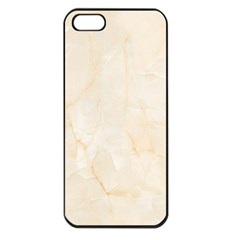 Rock Tile Marble Structure Apple Iphone 5 Seamless Case (black)