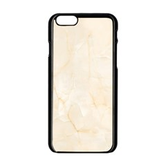 Rock Tile Marble Structure Apple Iphone 6/6s Black Enamel Case