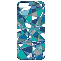 Abstract Background Blue Teal Apple Iphone 5 Classic Hardshell Case