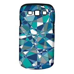 Abstract Background Blue Teal Samsung Galaxy S Iii Classic Hardshell Case (pc+silicone)