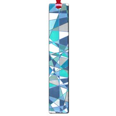 Abstract Background Blue Teal Large Book Marks