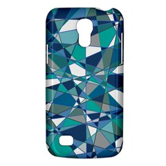 Abstract Background Blue Teal Galaxy S4 Mini