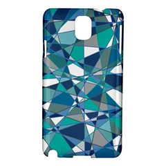 Abstract Background Blue Teal Samsung Galaxy Note 3 N9005 Hardshell Case