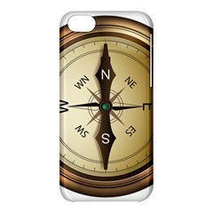 Compass North South East Wes Apple Iphone 5c Hardshell Case