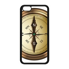Compass North South East Wes Apple Iphone 5c Seamless Case (black)