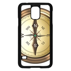 Compass North South East Wes Samsung Galaxy S5 Case (black)