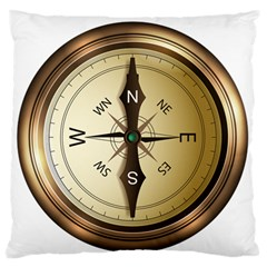 Compass North South East Wes Standard Flano Cushion Case (one Side)