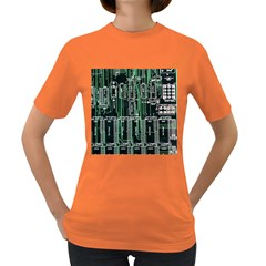 Printed Circuit Board Circuits Women s Dark T Shirt